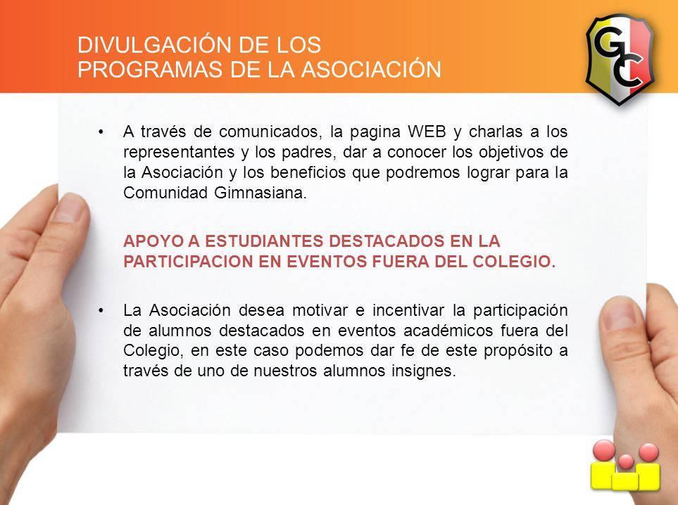 PROGRAMAS DE LA ASOCIACIÓN