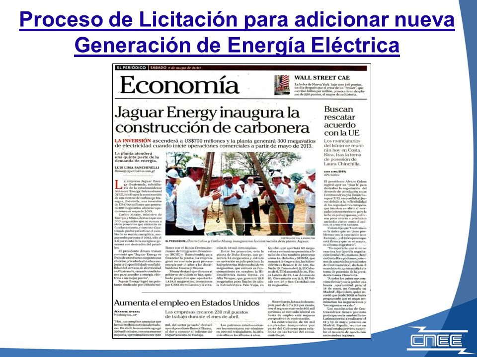 Producto de la planificación y la licitación llevada a cabo por la CNEE, se está ampliando el sistema de transmisión en Guatemala…