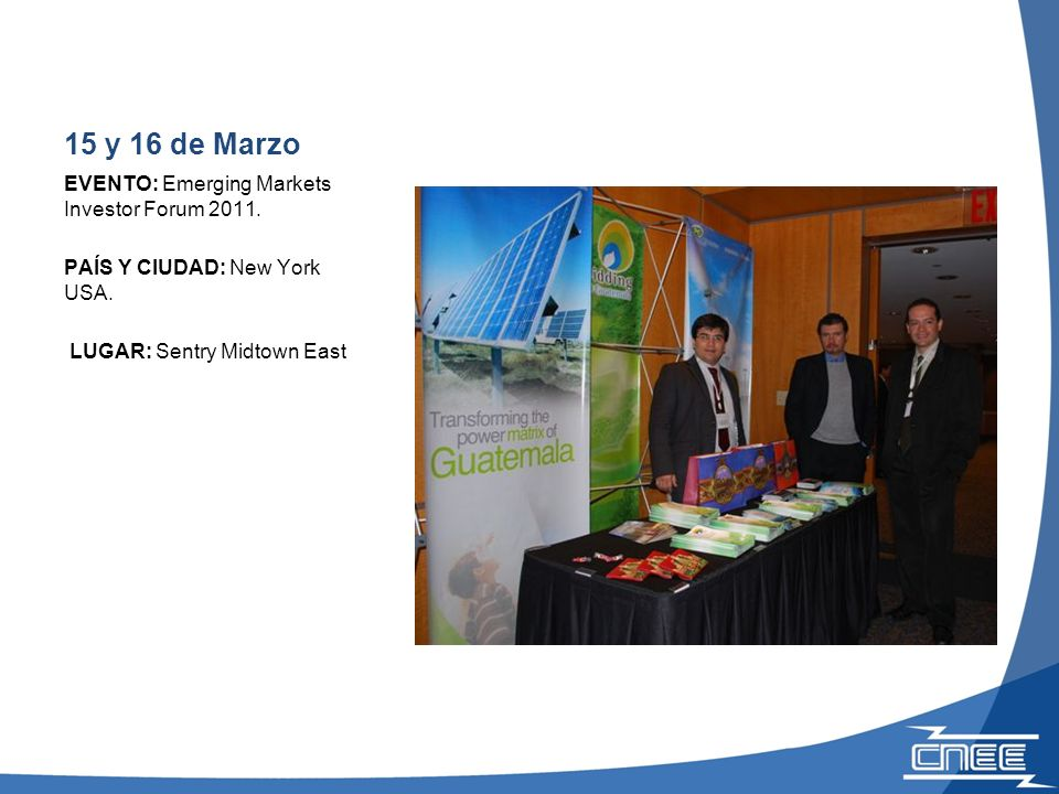23 y 24 de Marzo EVENTO: Andean Infrastructure Summit.