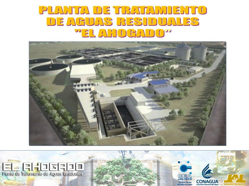 PLANTA DE TRATAMIENTO DE AGUAS RESIDUALES EL AHOGADO