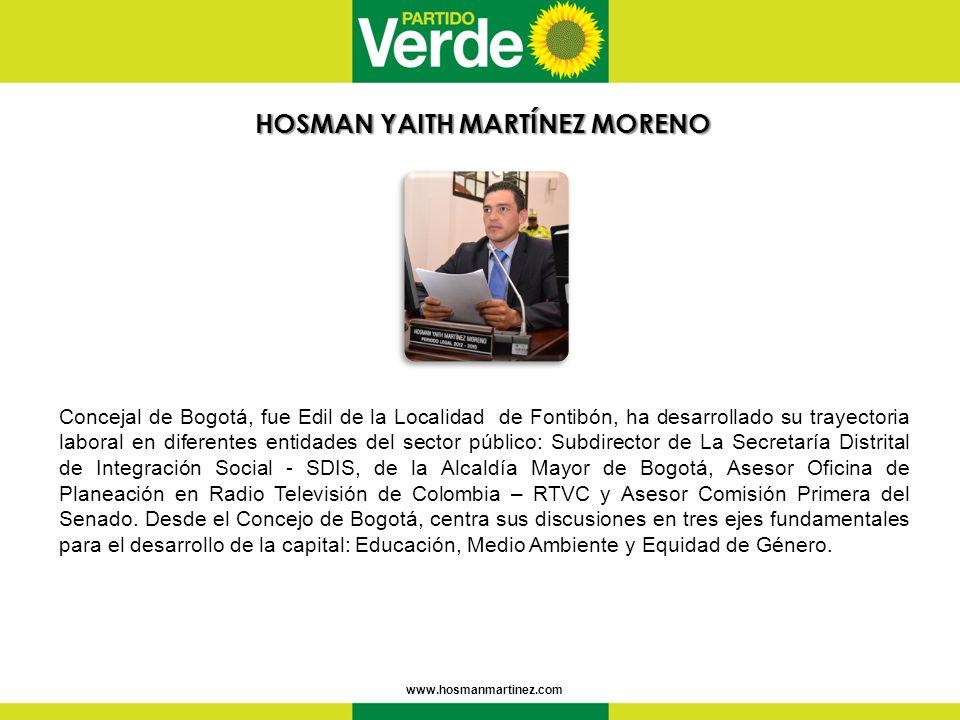HOSMAN YAITH MARTÍNEZ MORENO