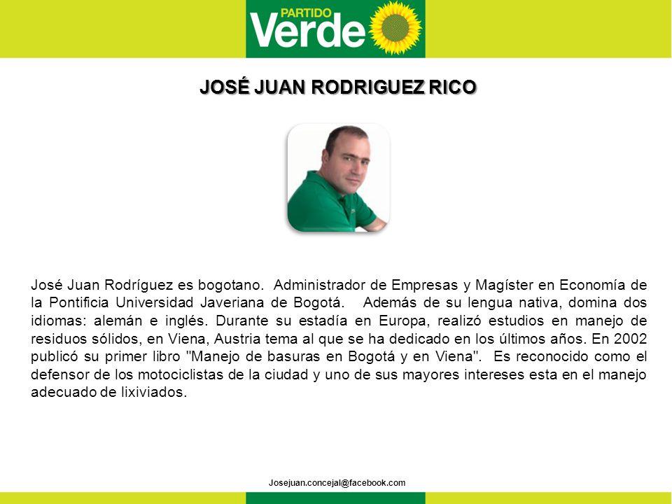 JOSÉ JUAN RODRIGUEZ RICO