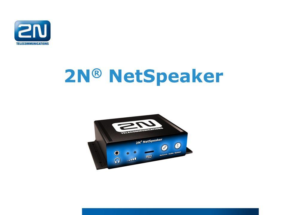 2N® NetSpeaker