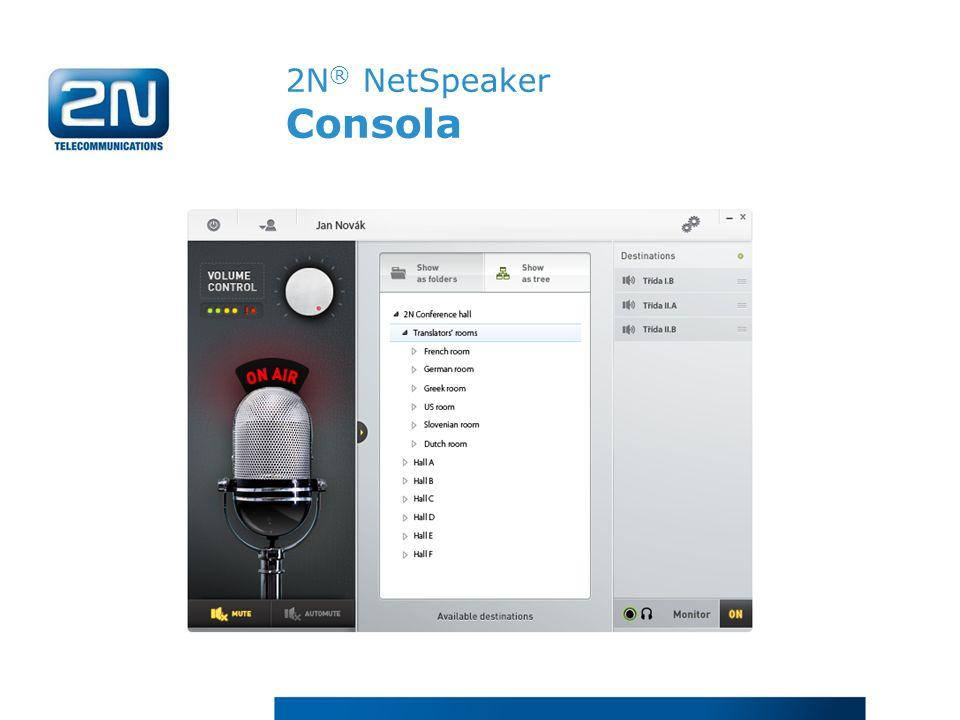 2N® NetSpeaker Consola