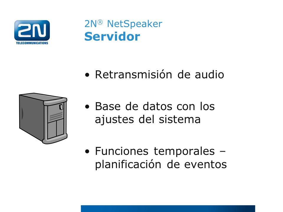 2N® NetSpeaker Servidor