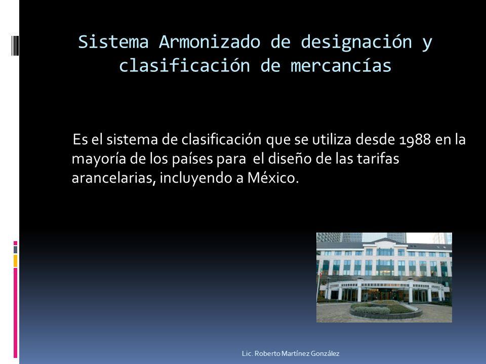 Sistema Armonizado de designación y clasificación de mercancías