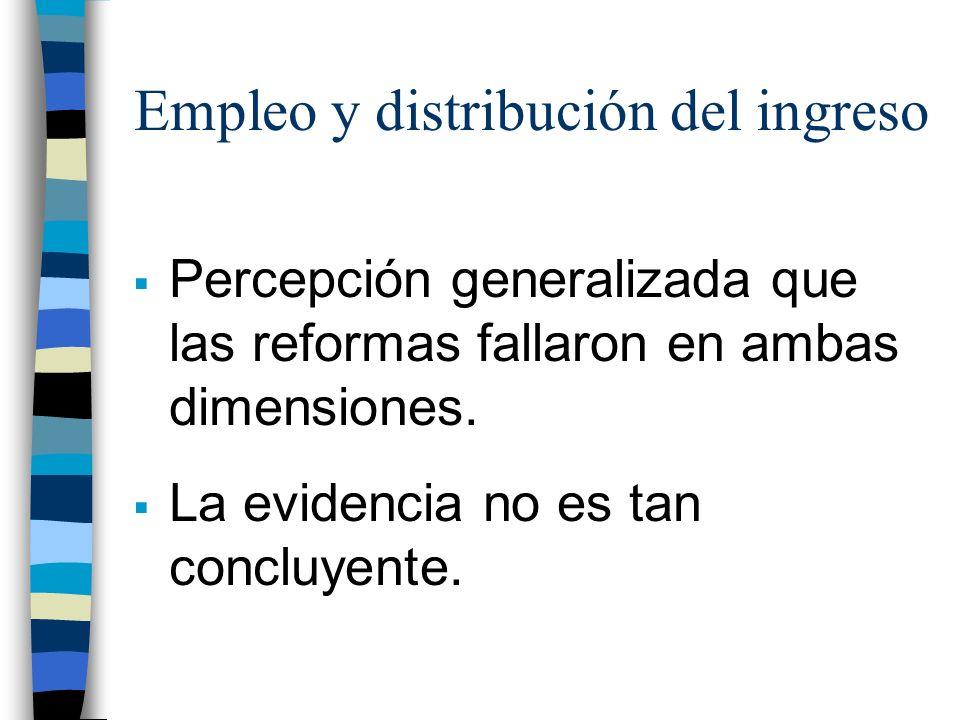Empleo y distribución del ingreso