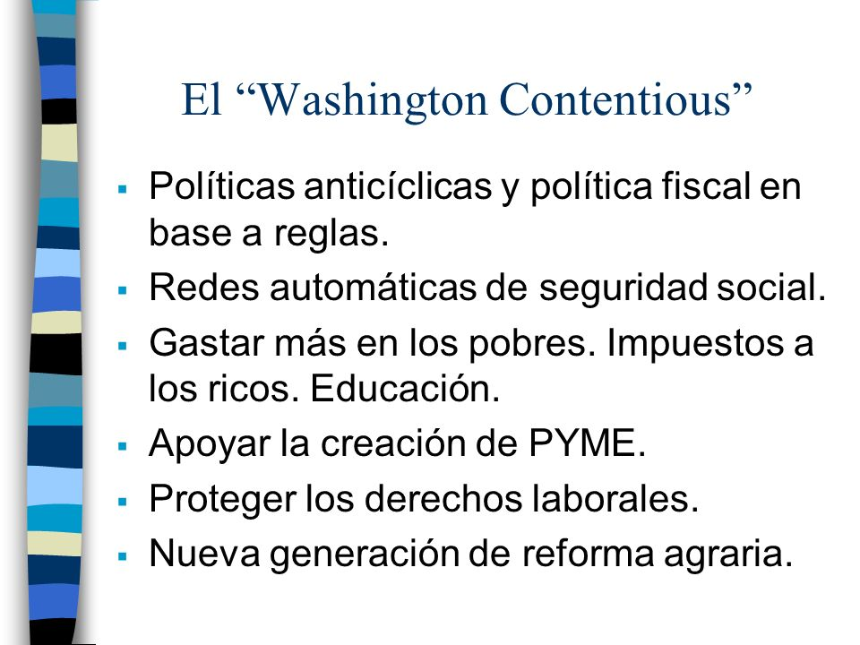 El Washington Contentious
