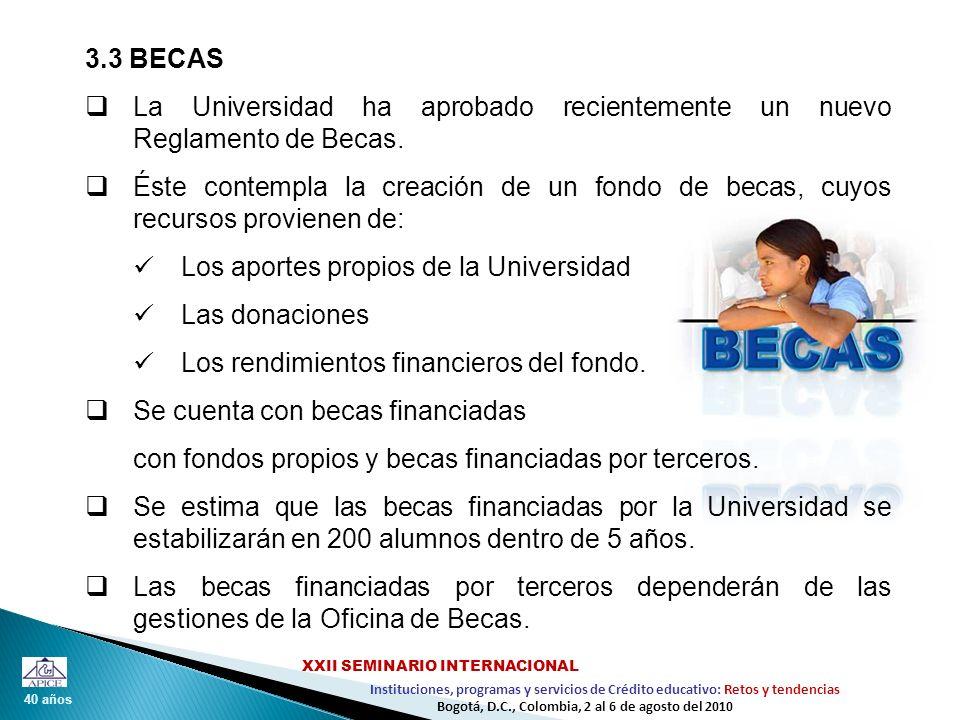 La Universidad ha aprobado recientemente un nuevo Reglamento de Becas.