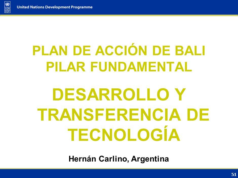 Qué sabemos Etapas de las opciones tecnológicas: Investigación, desarrollo y demostración/ difusión/ transferencia.