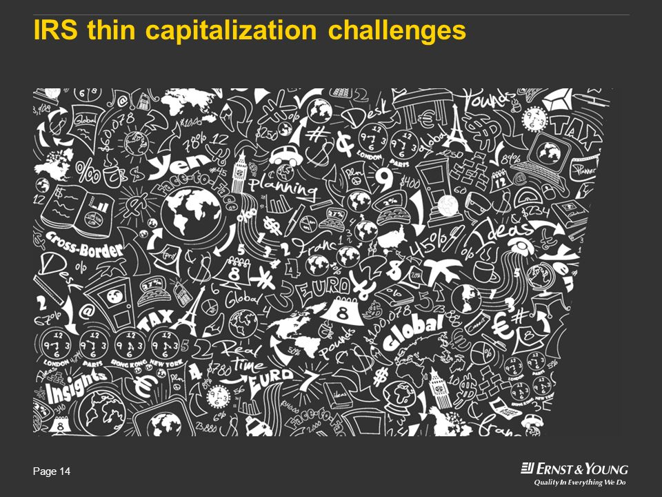 IRS thin capitalization challenges