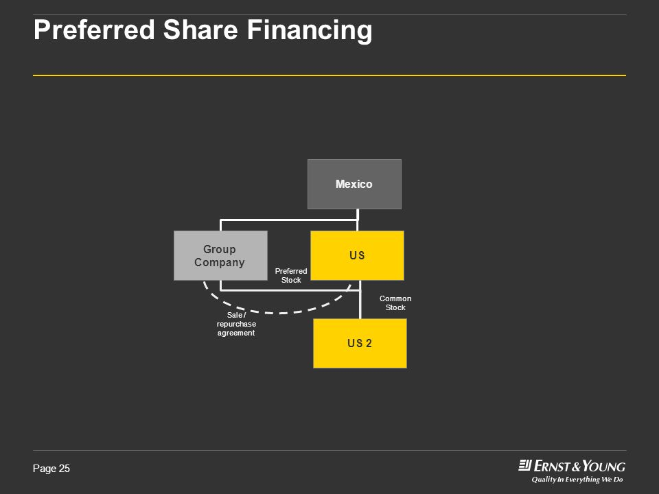 Preferred Share Financing