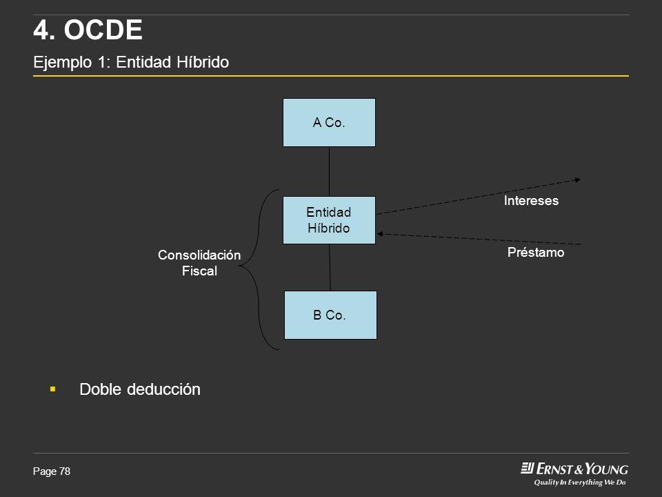 4. OCDE Ejemplo 1: Entidad Híbrido