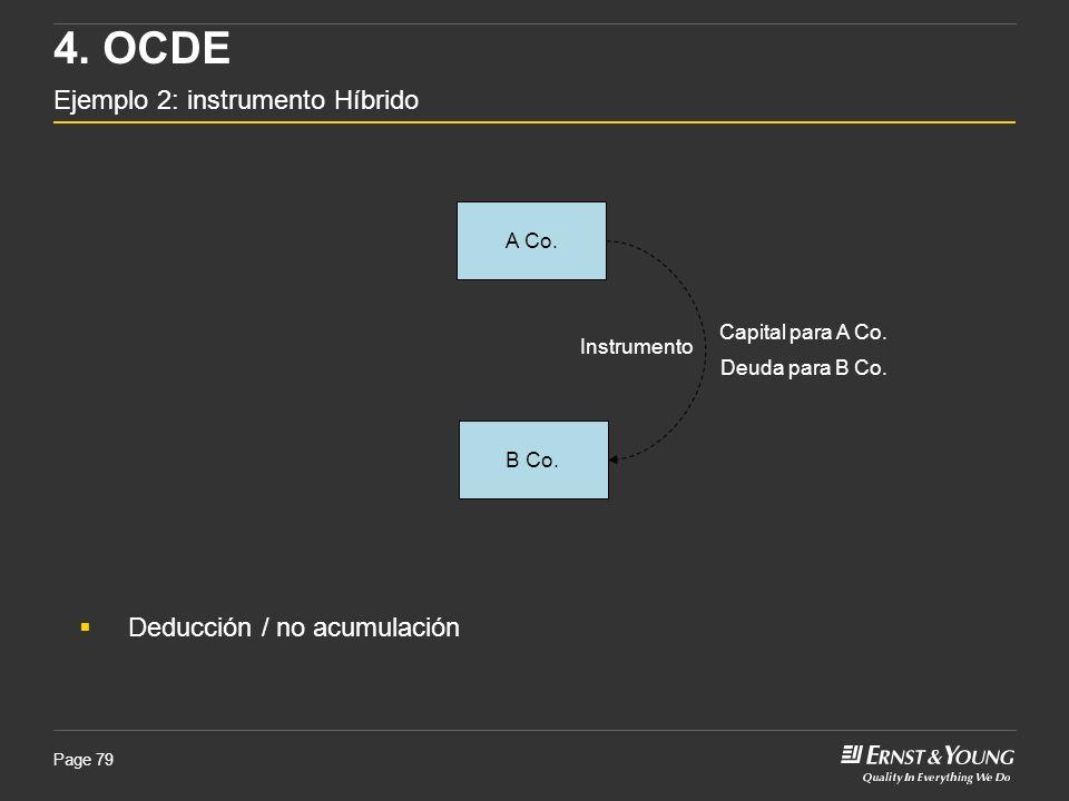 4. OCDE Ejemplo 2: instrumento Híbrido