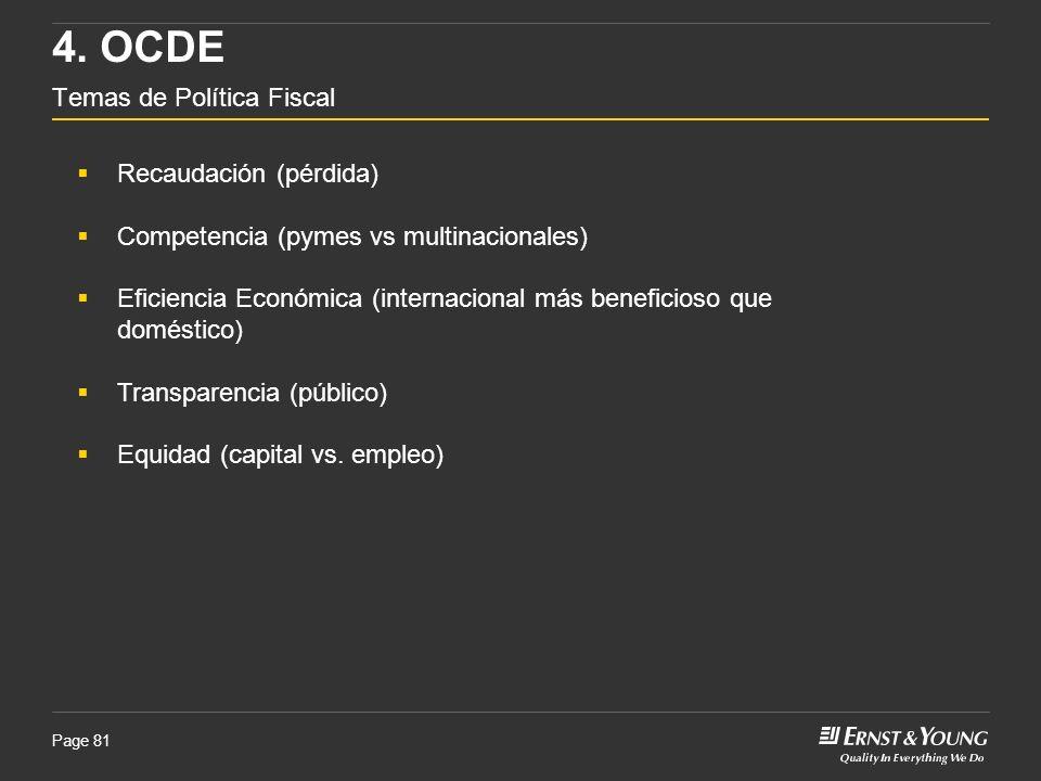 4. OCDE Temas de Política Fiscal