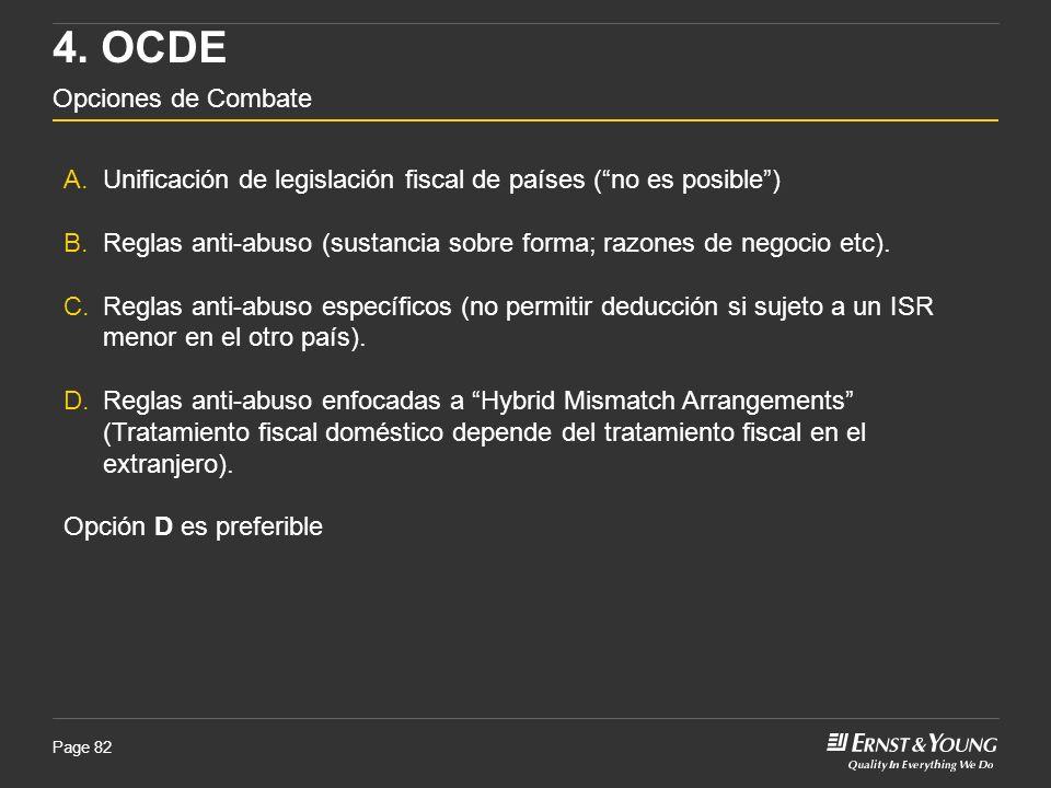 4. OCDE Opciones de Combate