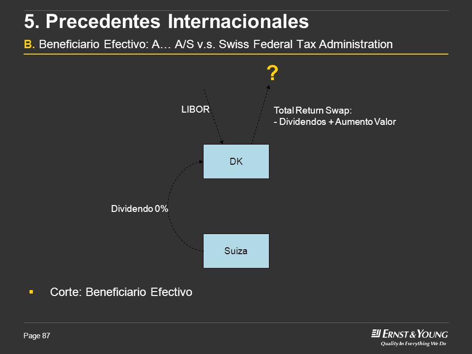 5. Precedentes Internacionales B. Beneficiario Efectivo: A… A/S v. s