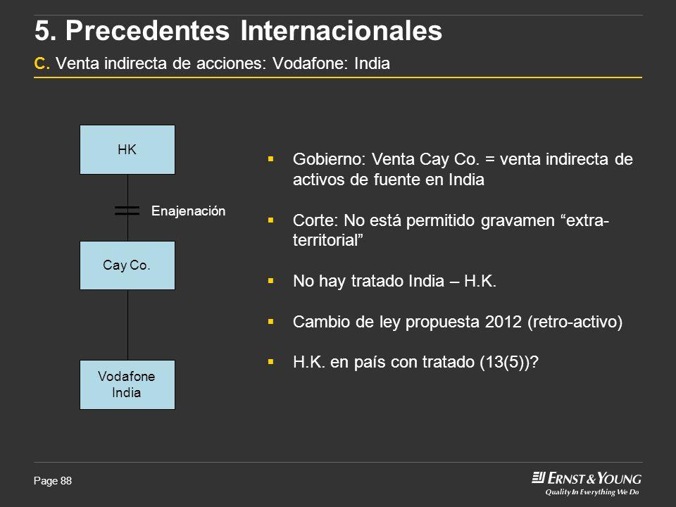 5. Precedentes Internacionales C