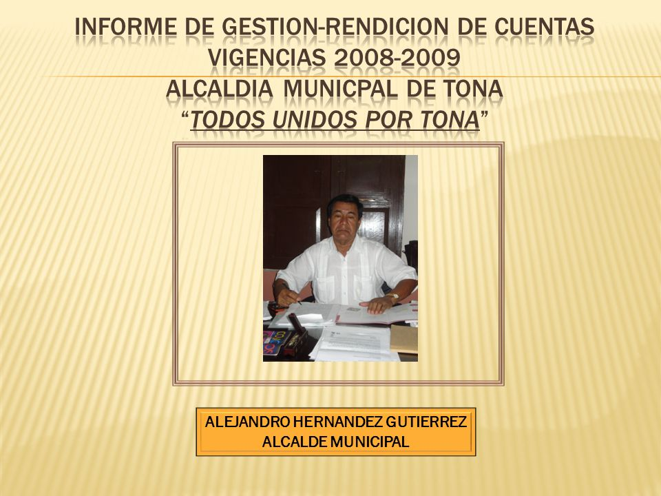 ALEJANDRO HERNANDEZ GUTIERREZ