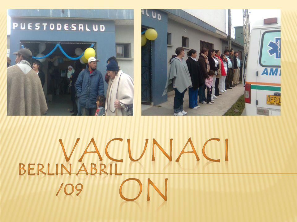VACUNACION BERLIN ABRIL /09