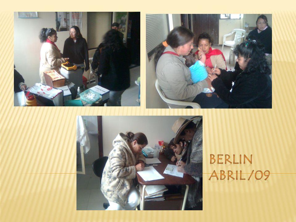 BERLIN ABRIL /09