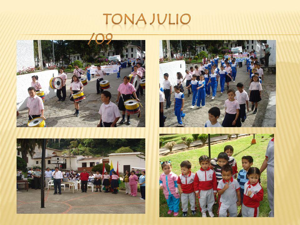 TONA JULIO /09