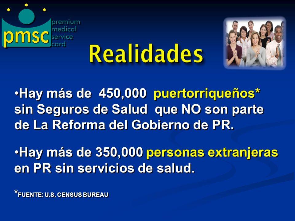 Hay más de 350,000 personas extranjeras en PR sin servicios de salud.