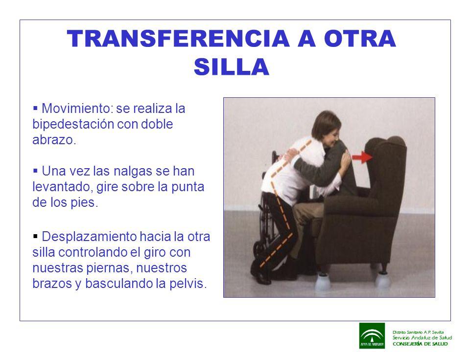 TRANSFERENCIA A OTRA SILLA