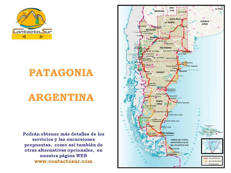 PATAGONIA ARGENTINA www.contactosur.com