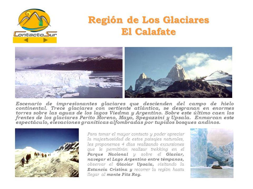 Región de Los Glaciares El Calafate