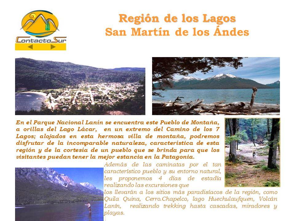 Región de los Lagos San Martín de los Ándes