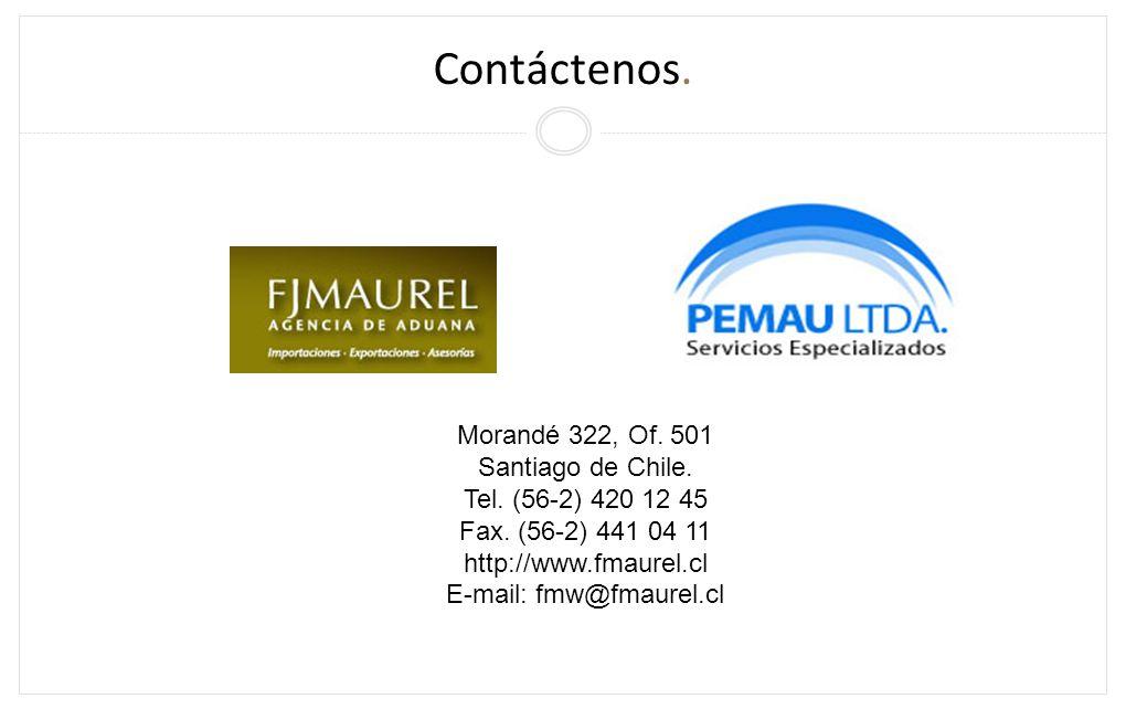 http://www.fmaurel.cl E-mail: fmw@fmaurel.cl