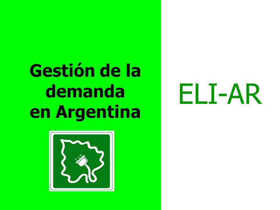 Gestión de la demanda en Argentina ELI-AR