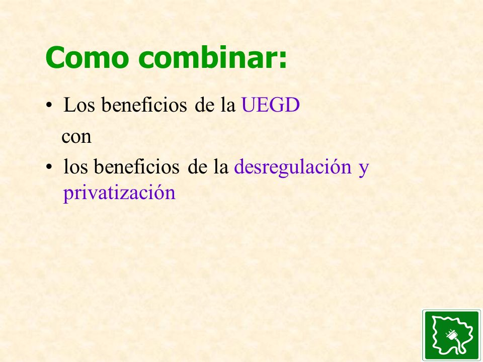 Como combinar: Los beneficios de la UEGD con