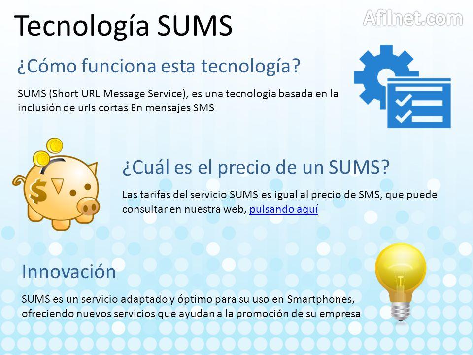 Tecnología SUMS Afilnet.com ¿Cómo funciona esta tecnología