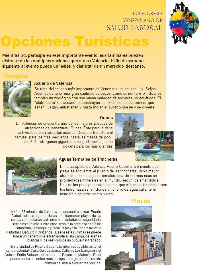 Opciones Turísticas Parques Playas
