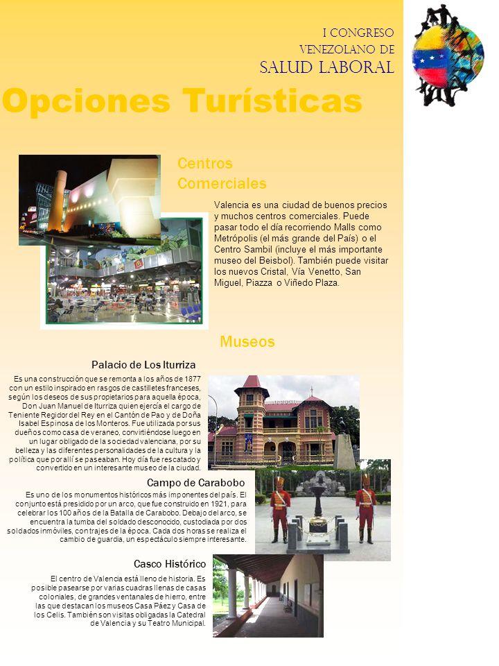 Opciones Turísticas Centros Comerciales Museos