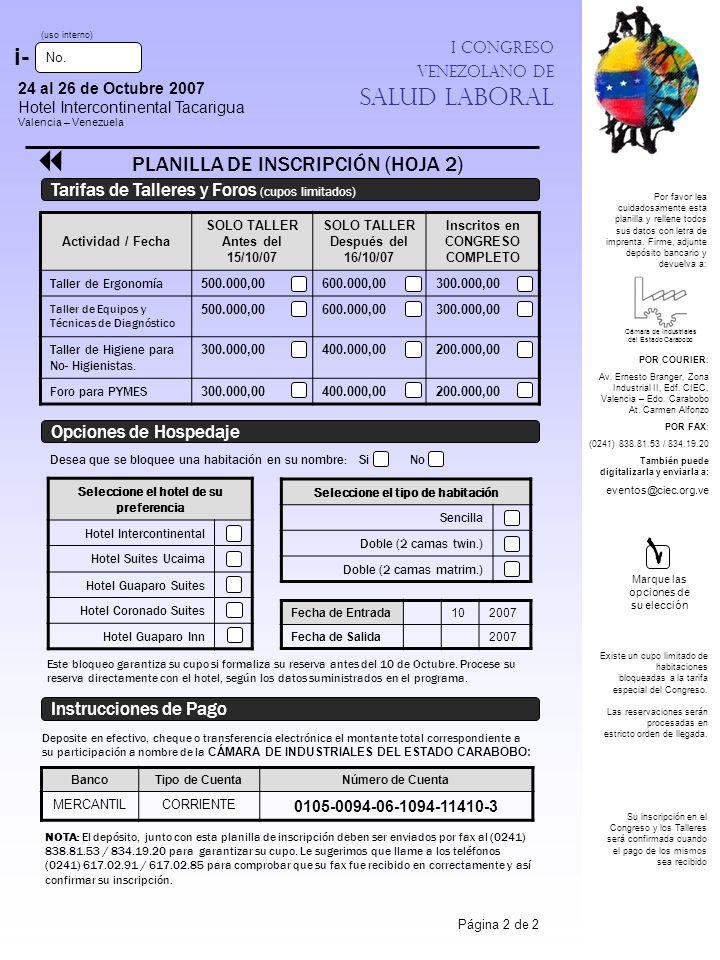 1 i- PLANILLA DE INSCRIPCIÓN (HOJA 2)