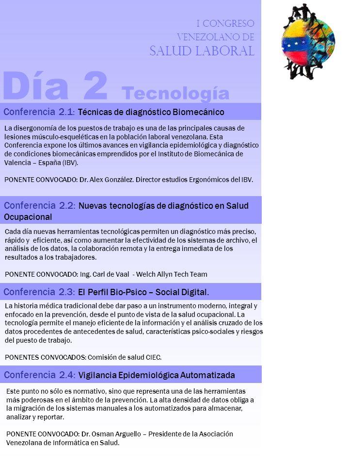 Día 2 Tecnología Conferencia 2.1: Técnicas de diagnóstico Biomecánico