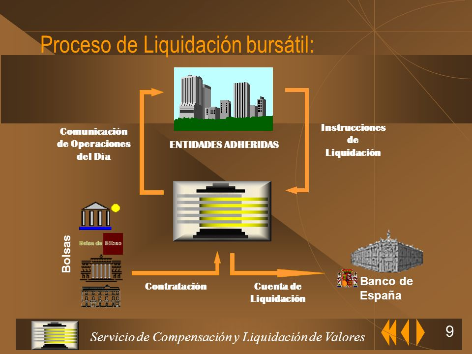 Proceso de Liquidación bursátil: