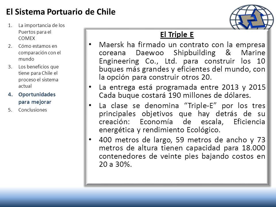 El Sistema Portuario de Chile