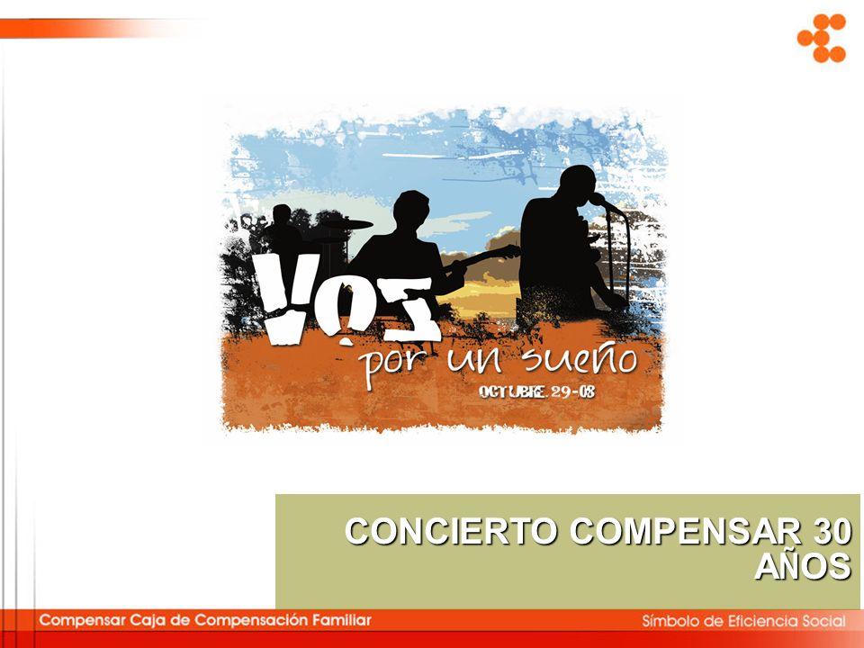 CONCIERTO COMPENSAR 30 AÑOS