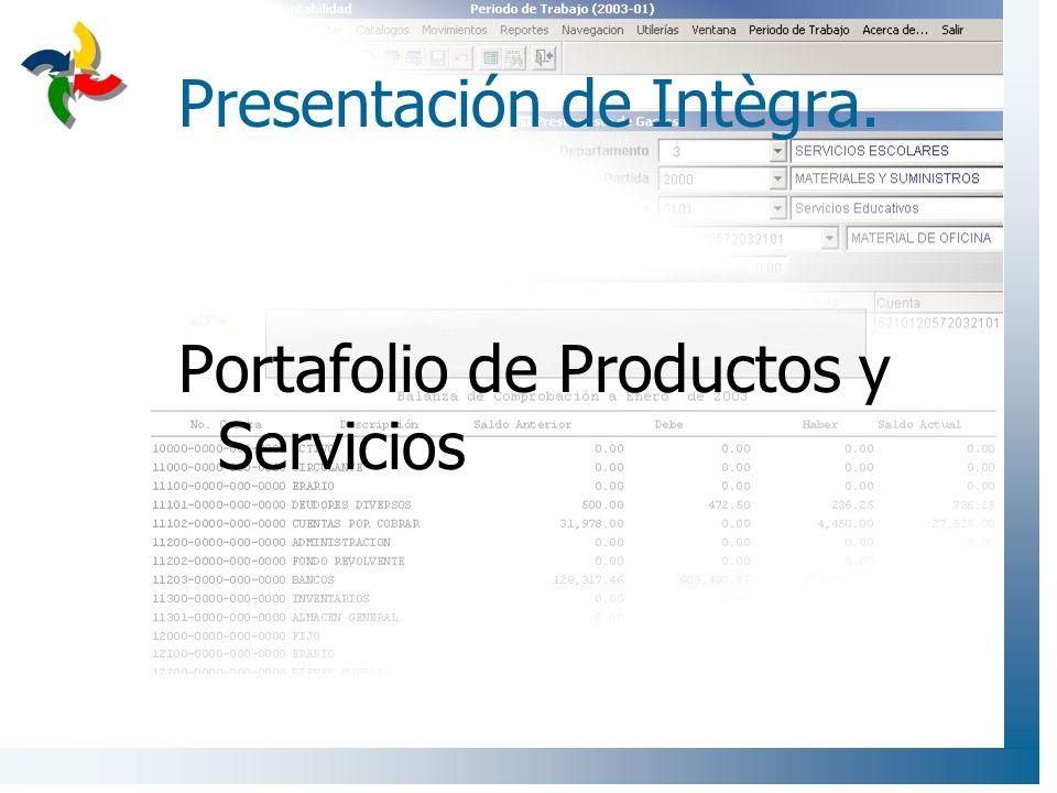 Presentación de Intègra.