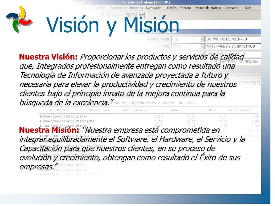 Visión y Misión