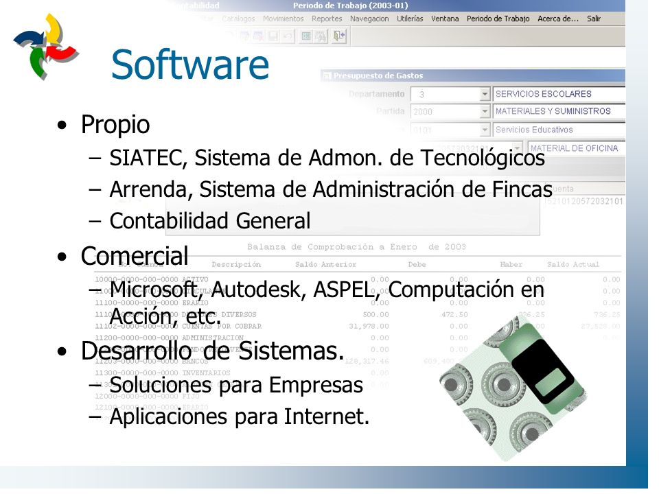 Software Propio Comercial Desarrollo de Sistemas.