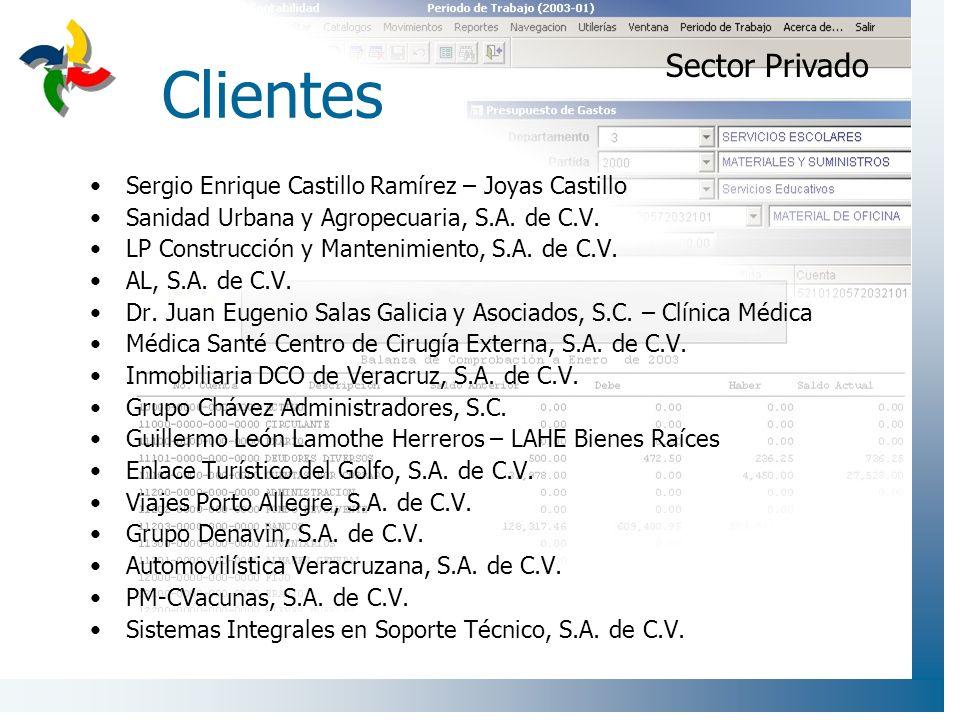 Clientes Sector Privado