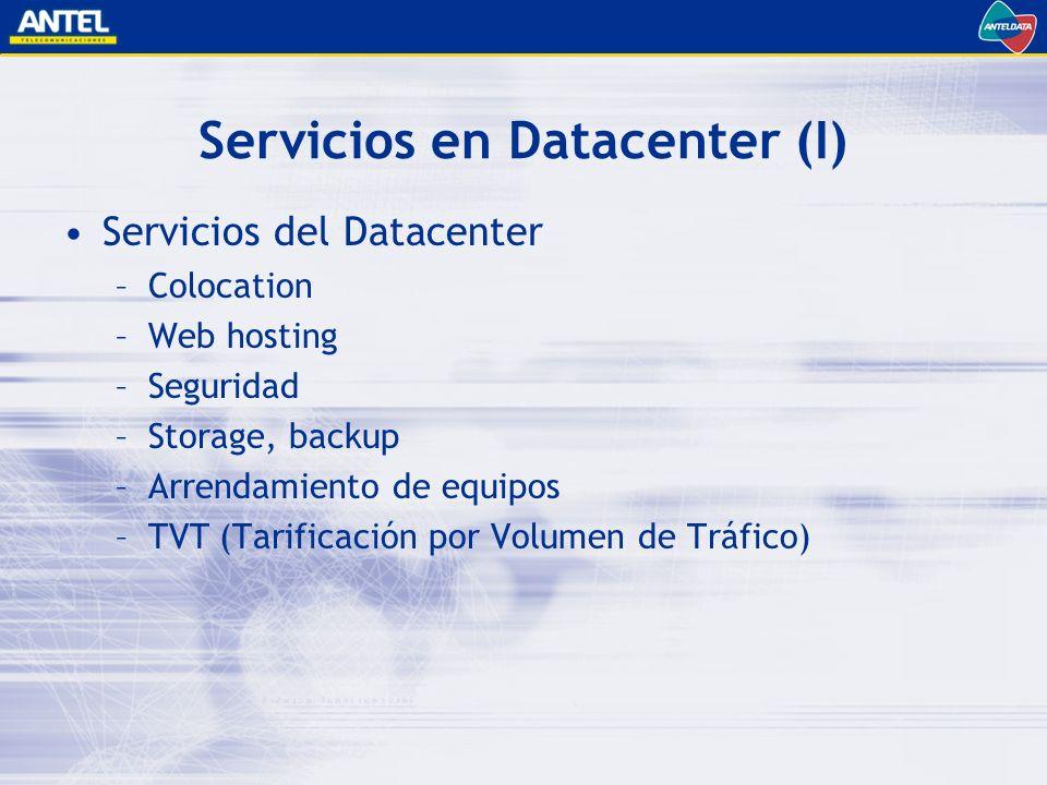 Servicios en Datacenter (I)