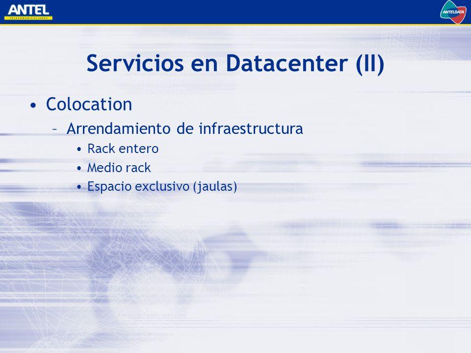Servicios en Datacenter (II)