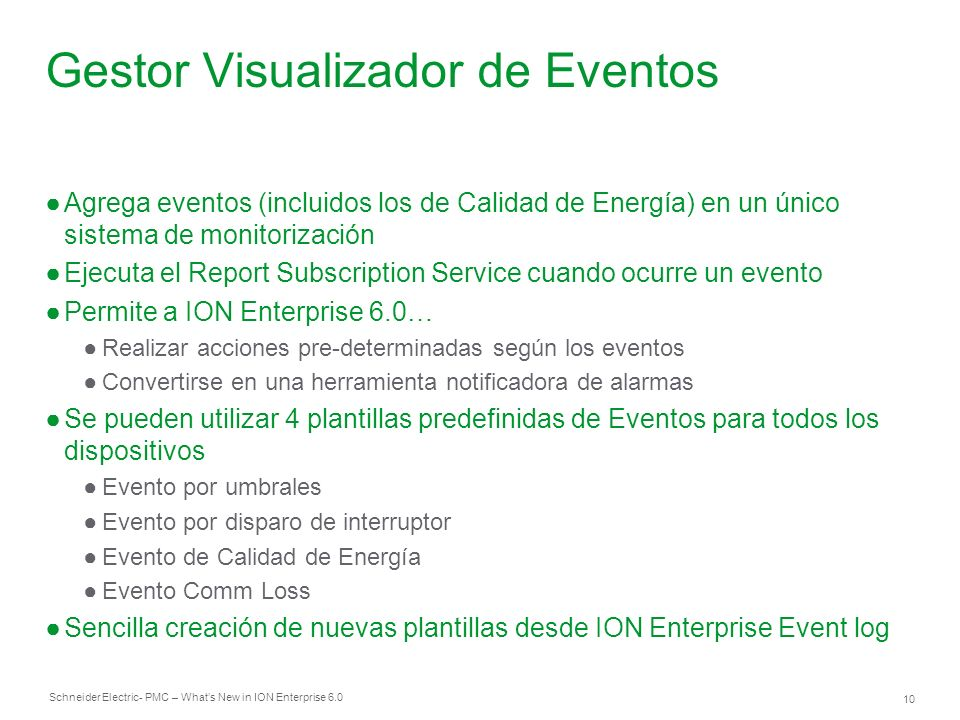 Gestor Visualizador de Eventos