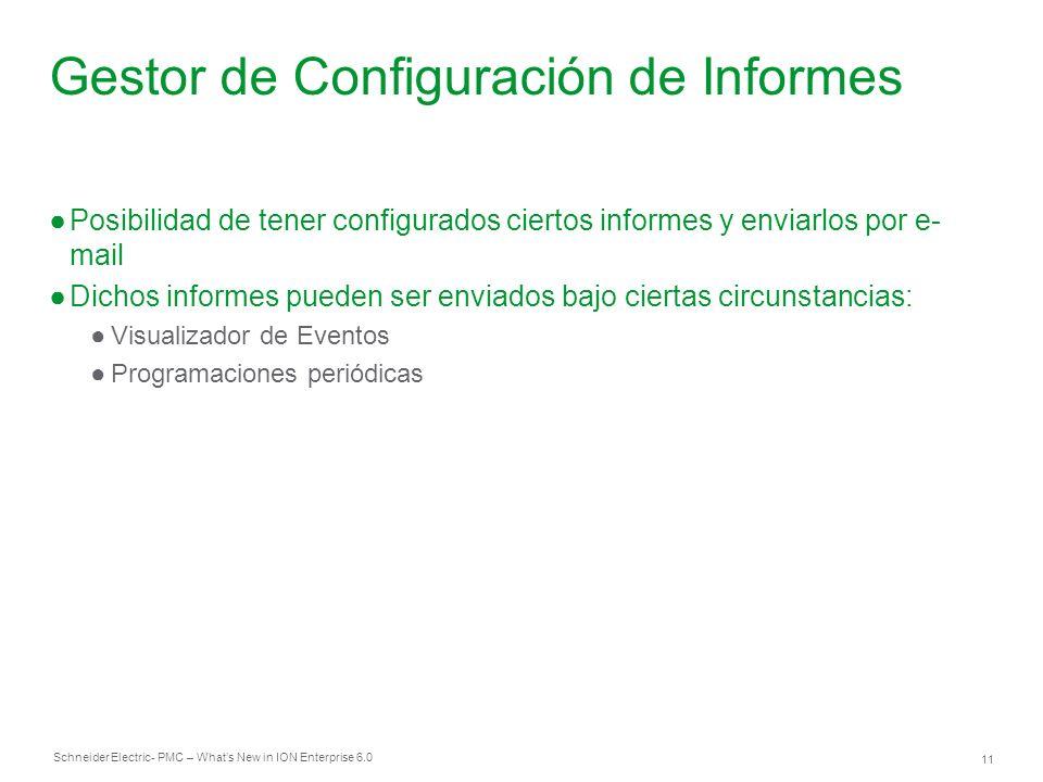 Gestor de Configuración de Informes